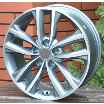 R Line KIBK846 grey polished 18x7,5 5x114,3 ET40 67,1