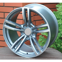 R Line BBK855 grey polished 17x8 5x120 ET34 72,6