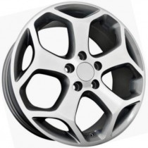 R Line FOBK871 16x6,5 5x108 ET50 63,4 anthracite polished