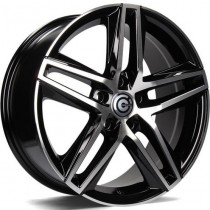 Carbonado Stormy 17x7,5 5x112 ET42 57,1 black polished
