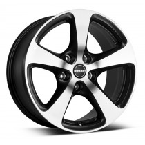 Borbet CC 18x8,5 black matt polished
