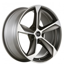 Borbet S 17x8 graphite polished matt