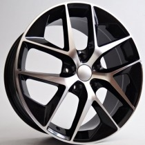 4Racing SE01 black polished 17x7,5 5x112 ET45 57,1 x3