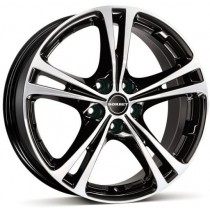 Borbet XL 17x7,5 black polished