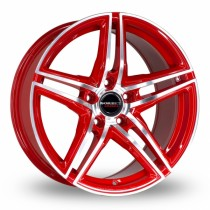 Borbet XRT 18x9 red polished