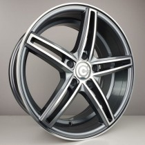 Carbonado Bucket 18x8,5 5x112 ET28 66,6 anthracite polished