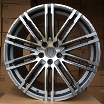 R Line PBY1026 anthracite polished 22x9,5 5x130 ET50 71,6