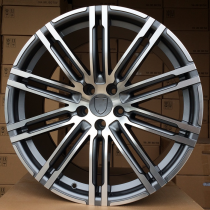 R Line PBY1026 anthracite polished 20x9,5 5x130 ET50 71,6