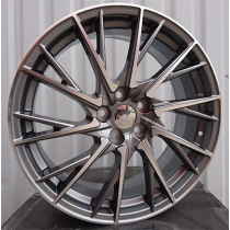 R Line BY1151 anthracite polished 19x7.5 5x114.3 ET35 60.1