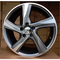 R Line VOBY115 grey polished 19x8 5x108 ET45 67,1