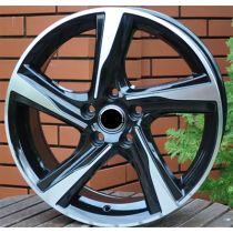 R Line VOBY115 anthracite polished 16x7 5x108 ET46 67.1