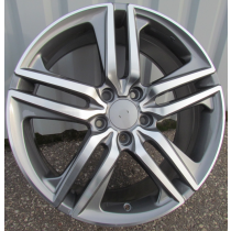 R Line BY1163 anthracite polished 18x8 5x114.3 ET55 64.1