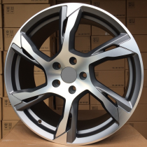 R Line VOLBY1175 anthracite polished  21x9 5x108 ET39 63,4