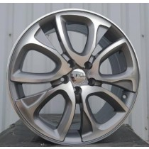 Racing Line CBY124 anthracite polished 18x7 5x108 ET32 65,1