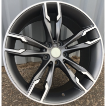 "R Line BBY1257 19"" 5x112 anthracite polished"
