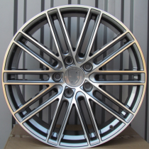 R Line PBY1274 anthracite polished 20x9,5 5x130 ET55 71,6