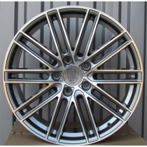 R Line BY1274 anthracite polished 21x9 5x112 ET26 66.5