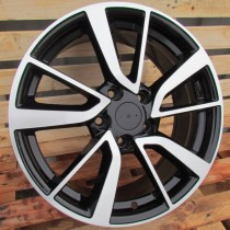 R Line NIBY131 black polished 17x7 5x114,3 ET40 66,1