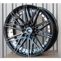 Racing Line RLBY1322 black polished 20x10 5x120 ET35 72,6
