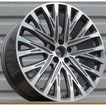R Line BY1339 anthracite polished 20x9 5x112 ET35 66.45