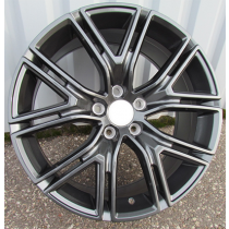 R Line BY1371 anthracite 17x7.5 5x108 ET48 63.3