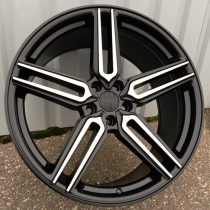 Racing Line RLBY1382 black polished 20x9 5x112 ET35 66,6