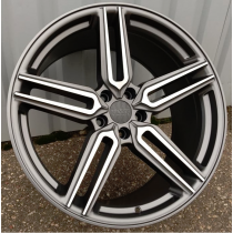 Racing Line RLBY1382 anthracite polished 20x10 5x112 ET38 66,6