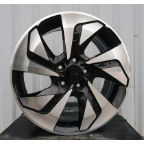 R Line BY1144 black polished 17x7 5x114,3