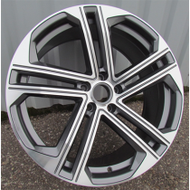 R Line BY1504 anthracite polished 20x9 5x112 ET33 66.45