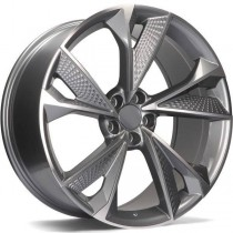 R Line ABY1566 20x9 5x112 anthracite polished