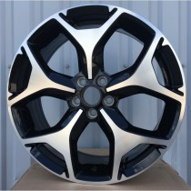 R Line SUBY164 black polished 18x7 5x100 ET48 56,1