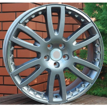 R Line VOBY245 grey polished 19x7,5 5x108 ET55 67,1