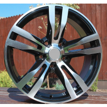 R Line BBY346 black polished 17x7,5 5x120 ET34 72,6