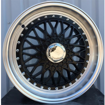R Line BY479 black polished 17x8.5 4x100/114.3 ET20 73.1