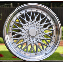 R Line BY479 silver polished 18x8 5x100/114.3 ET20 73.1