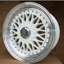 R Line BY479 white polished 17x8.5 4x108/114.3 ET20 73.1