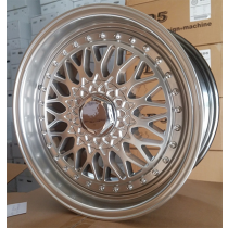 R Line BY479 silver polished 18x8 5x112/114.3 ET32 73.1