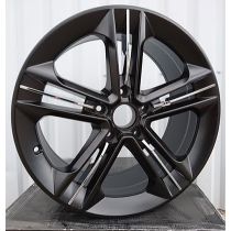 R Line BY5568 black polished 21x9 5x112 ET30 66.45