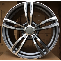R Line BZE492 anthracite polished 20x8,5 5x120 ET33 72,6