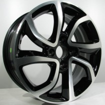 4Racing C01 6,5x16 black polished