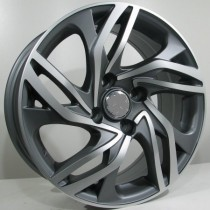 4Racing C02 6,5x16 antracite polished