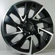 4Racing C03 17x7 black polished