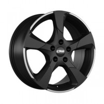 CMS C18 19x8,5 Matt Black White