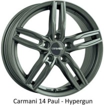Carmani 14 Paul gunmetal 16x7
