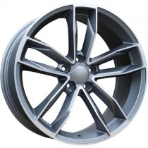 Carbonado California 18x8 5x112 ET35 66,45 anthracite polished