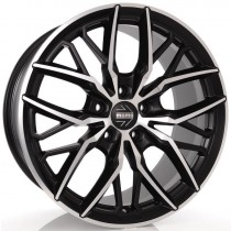 Momo Spider 20x10 black polished