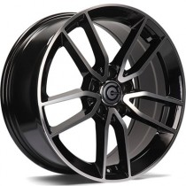 Carbonado Amazing 18x9 5x112 ET45 black polished