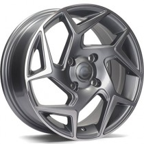 Carbonado Clipper 15x6,5 4x108 ET40 anthracite polished