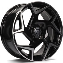 Carbonado Clipper 15x6,5 4x108 ET40 black polished