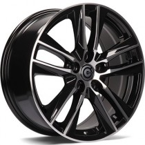 Carbonado Lightning 17x7,5 5x112 ET45 black polished